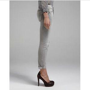 FRAME DENIM Le Garçon Mid Rise Skinny Jeans